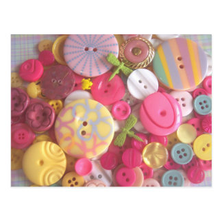 Beach Color Buttons Post Cards