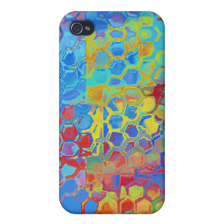 Beach Colors Abstract Cover For iPhone 4