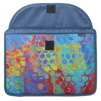 Beach Colors Abstract MacBook Pro Sleeve