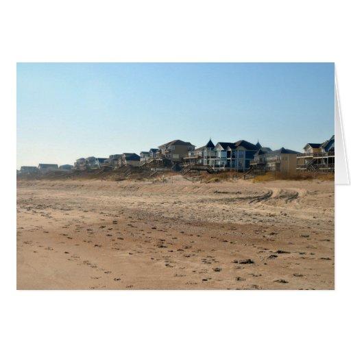 Beach Condos Greeting Cards