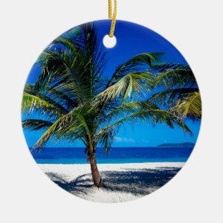 Beach Croix Us Virgin Islands Christmas Ornament