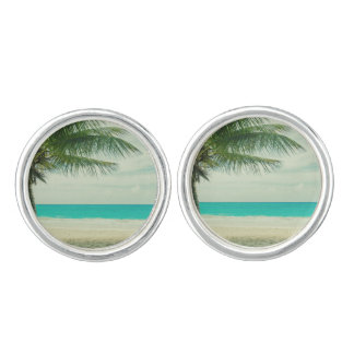Beach Cuff Links
