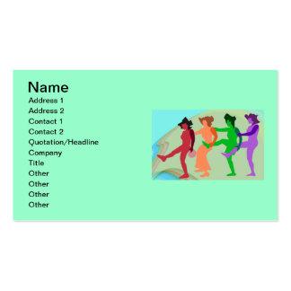 Beach Dance Business Card