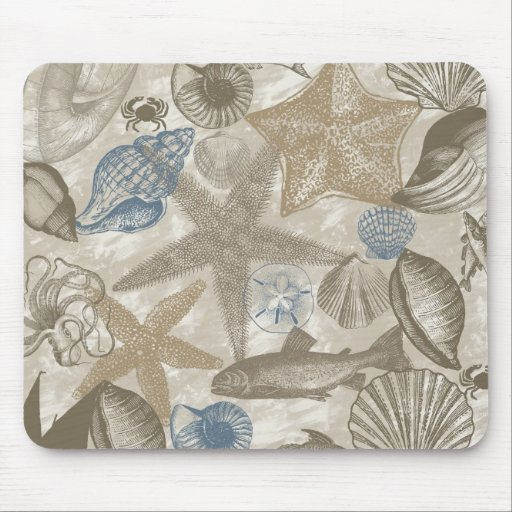 Beach day mouse pad