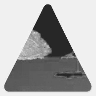 Beach Daydreams Triangle Sticker