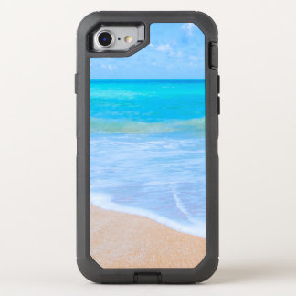 Beach Days Pretty Aqua Water Day Dream OtterBox Defender iPhone 8/7 Case