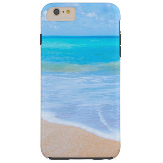 Beach Days Pretty Tropical Shore Tough iPhone 6 Plus Case