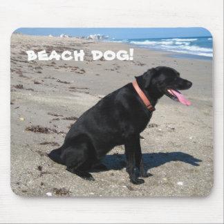 beach dog! mouse pad