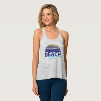 """Beach, don't kill my vibe"" Tank Top"
