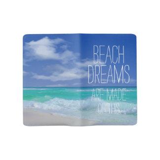Beach Dreams Large Moleskine Journal Notebook