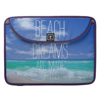 Beach Dreams Macbook Sleeves