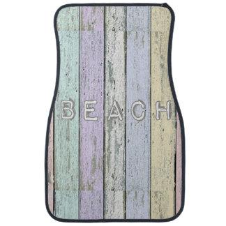 Beach Driftwood Car Mats Car Mat