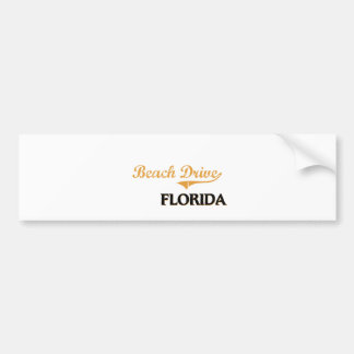 Beach Drive Florida Classic Bumper Sticker