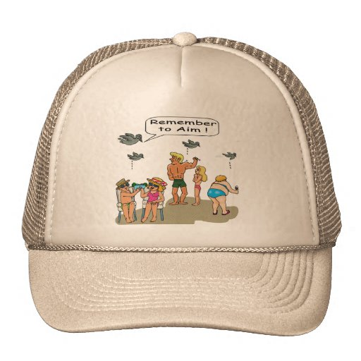 """Beach Droppings"" Hat"