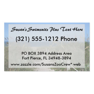 Beach dune walk faded background pack of standard business cards