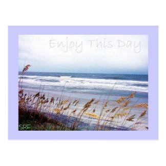 Beach - Enjoy This Day - Postcard