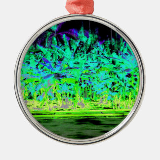 Beach Explosion Christmas Ornament