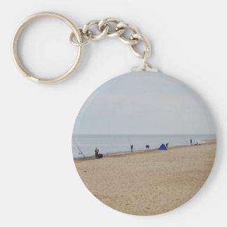 Beach Fishing Keychain