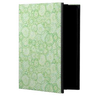 Beach Flora Green iPad Case - Circles