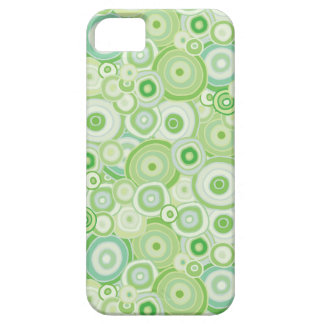 Beach Flora Green Phone Case - Circles