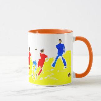 Beach Football Mug