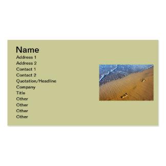 Beach Footsteps Business Card