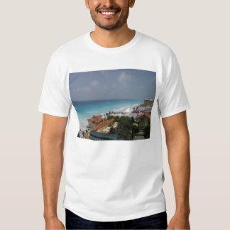 Beach Front, Cancun, Mexico Shirts