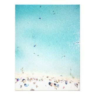 Beach Fun From Above Photo Print