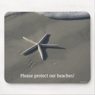 Beach Gifts Starfish Mousepad