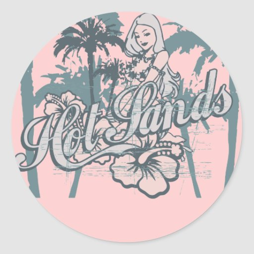 Beach Girl Graphic Tshirts and Gifts Stickers
