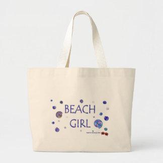 Beach Girl - Swirls - Tote Bag