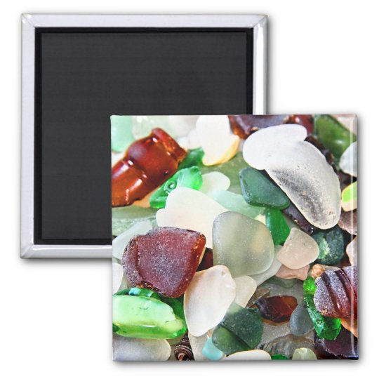 Beach Glass Magnet