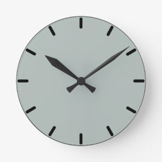 Beach Glass Wall Clock