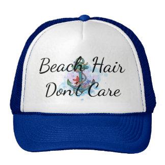 beach hair don't care, bachelorette party, anchor cap