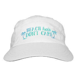 Beach Hair Don't Care | Vacation Hat