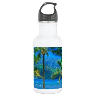 Beach Hammock Kauai Hawaii 532 Ml Water Bottle