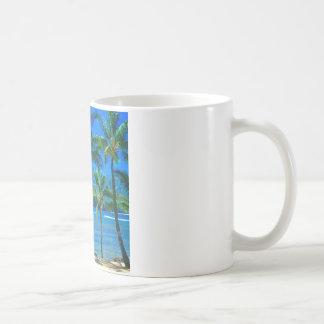 Beach Hammock Kauai Hawaii Coffee Mug