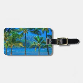 Beach Hammock Kauai Hawaii Luggage Tag