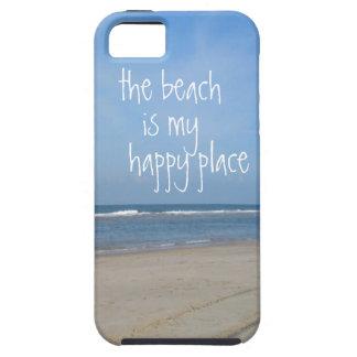 Beach Happy Place iphone 5 case