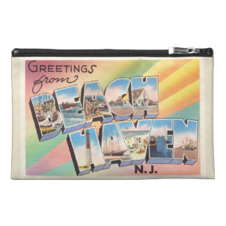 Beach Haven New Jersey NJ Vintage Travel Postcard- Travel Accessories Bag