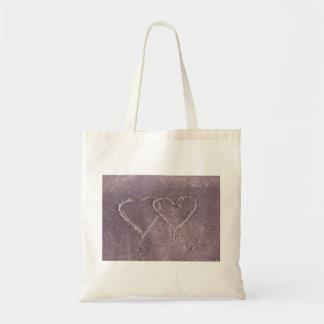 Beach Hearts Tote Bag