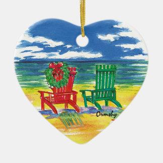 Beach-holiday ornament