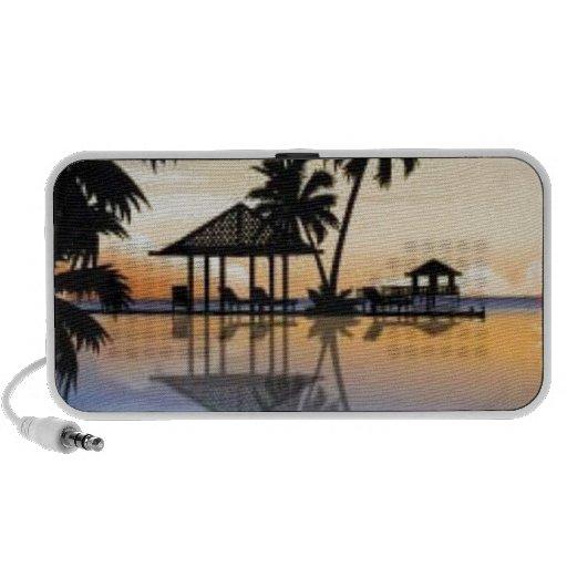 Beach holiday iPhone speakers