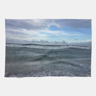 Beach Horizon From Shore To Sky Tea Towel