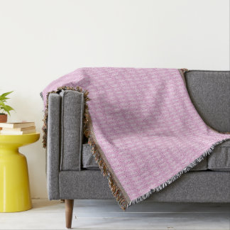 Beach-House-Cuddle-Pink-Contemporary_Blanket Throw Blanket