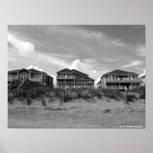 Beach Houses Poster
