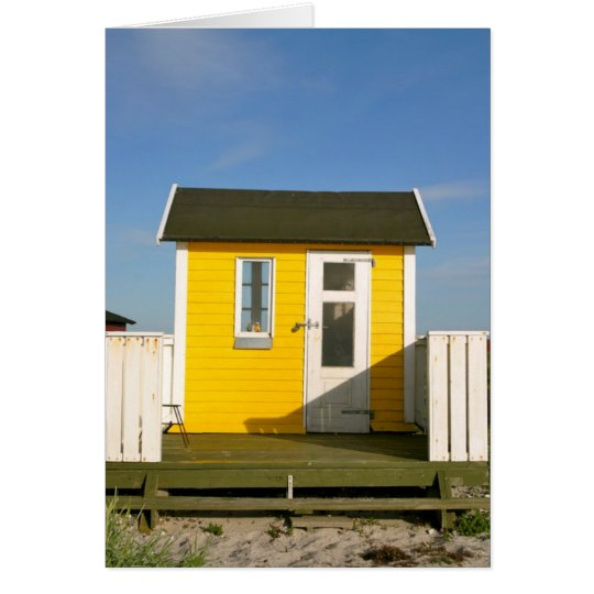 Beach hut, Aero Card