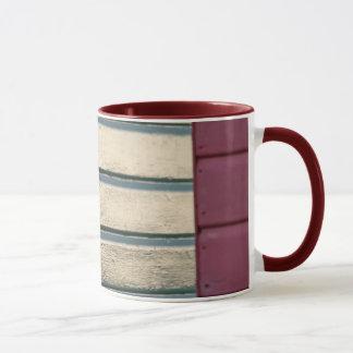 Beach hut detail mug