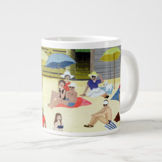 Beach Huts 1991 Jumbo Mug