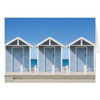 Beach Huts 2 Card
